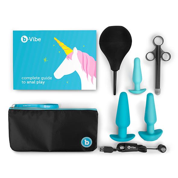 Plug-set-per-allenamento-ed-educazione-b-Vibe-contenuto-blue-fronte